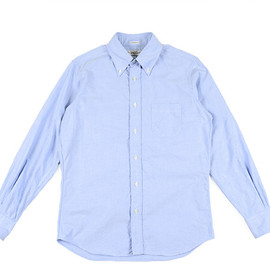 INDIVIDUALIZED SHIRTS - BD Shirts Standard Fit Cambridge Oxford-Blue