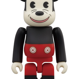 MEDICOM TOY - WORLD WIDE TOUR BE@RBRICK MICKEYMOUSE 100%