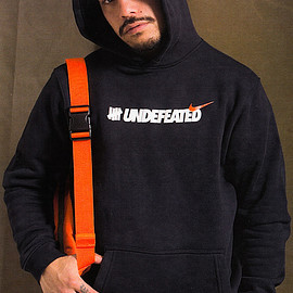 UNDEFEATED, NIKE - Hoodie (Air Max 97 Collection)  - Black/White/Orange