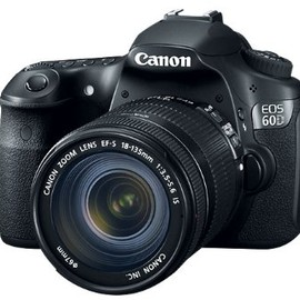 Canon - EOS 60D 18 MP CMOS Digital SLR Camera with 3.0-Inch LCD and 18-135mm f/3.5-5.6 IS UD Standard Zoom Lens