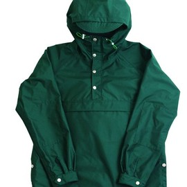 ENDS and MEANS - Rain Forest Anorak - Forest Green