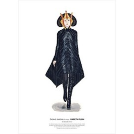 JOHN WOO - He Wears It 013 - Padme Amidala wears Gareth Pugh   (limited edition)