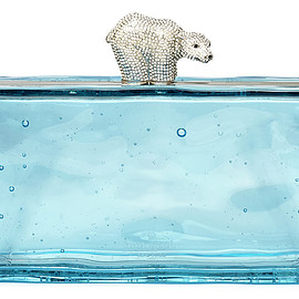 kate spade - Polar Bear Ice Clutch