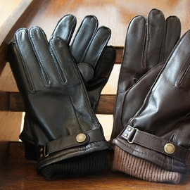 DENTS - MEN'S HAIRSHEEP LEATHER GLOVES