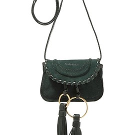 See by Chloé - Polly tasseled suede shoulder bag