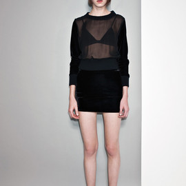 AY NOT DEAD - See Through Knit