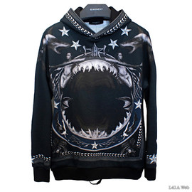 GIVENCHY - 2012AW Shark & Mermaid Print Sweater