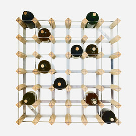 THE CONRAN SHOP - WINE RACK LIGHT WOOD