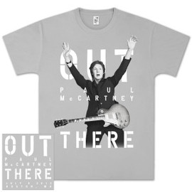 Paul McCartney - OUT THERE T-shirts