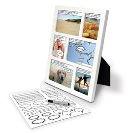 SPINNING HAT - COMIC STRIP PHOTO FRAME