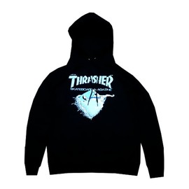 THRASHER - FIRST COVER PULLOVER HOOD (Black)