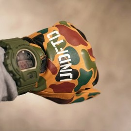 UNDEFEATED - Leather Sand Camo Gloves / PAC-3 Leather Camo Gloves