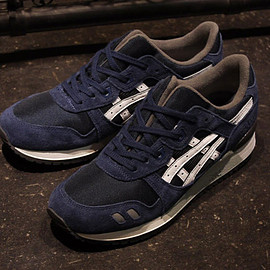 """ASICS Tiger - GEL-LYTE III """"LIMITED EDITION"""" NVY/WHT/GRY"""
