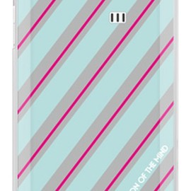 SECOND SKIN - ROTM Stripe エメラルド (クリア) design by ROTM / for AQUOS PHONE SERIE ISW16SH/au
