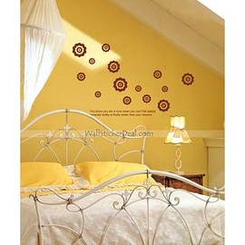 wallstickerdeal.com - Shining Flowers Wall Sticker