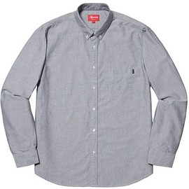 supreme - Supreme Oxford Shirts Black