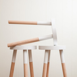 PecanWorkshop - handmade wooden stool