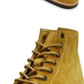 Brooks Brothers - SUEDE RACE-UP BOOTS