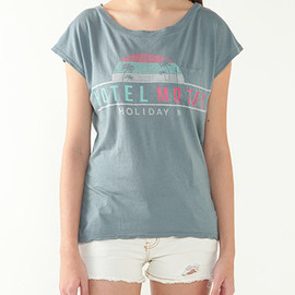 Planet blue world - 【Sol Angeles】 ロゴTシャツ