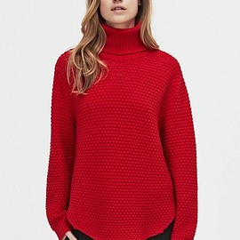 HOPE - NORAH SWEATER「RED」