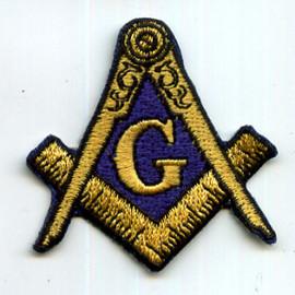 freemason - embroidered patch