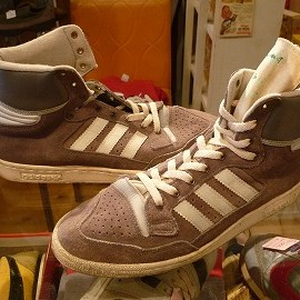 "adidas - 「<used>80's adidas CENTENIAL SUEDE gray""made in FRANCE"" size:GB9(27.5cm) 13000yen」完売"