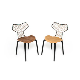 HAN KJØBENHAVN X FRITZ HANSEN AT NEED SUPPLY CO. - Grand Prix™ chair