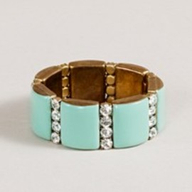 J.CREW - Golden stripe bracelet