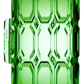 Gucci - Gucci, clear green clutch