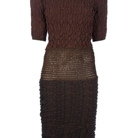 craig lawrence - CRAIG LAWRENCE - PUNCH CARD BODYCON DRESS 1