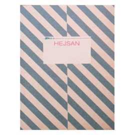 Hejsan - Stripes Notebook