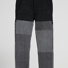 NADA. - Re-make denim pants / Black