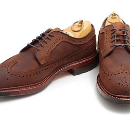 Alden - Chamois Longwing Blucher Shoe