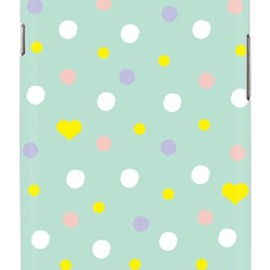 SECOND SKIN - uistore「Dot (LimeGreen)」/ for  GALAXY S III SC-06D/docomo