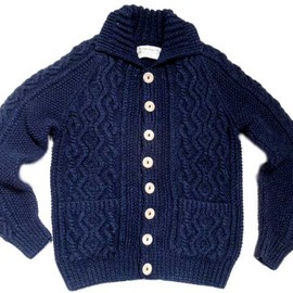 INVERALLAN - COTTON DENIM ALAN CARDIGAN