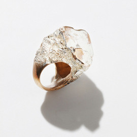 MANIAMANIA - DARK EARTH ring