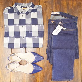 Madewell, j brand - outfit