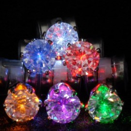 Night ice LED - Earrings