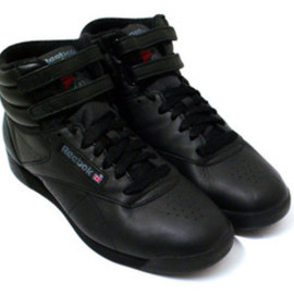 Reebok - FREESTYLE HI BLACK