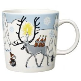Arabia - Moomin mug  Winter Forest 2012