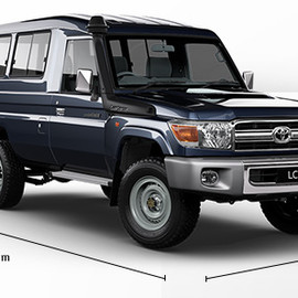 TOYOTA - LC70 Troop Carrier GXL