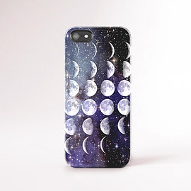 csera - iPhone 6 Moon Phases Case Moon Phases iPhone 6 Plus Case, Stars and Moon iPhone Case Moon