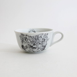 PASS THE BATON - Goat&Wolf Remake tableware morning cup