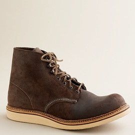 """RED WING - R for J.Crew 6"""" round-toe boots"""