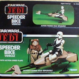 Kenner - SPEEDER BIKE VEHICLE vintage
