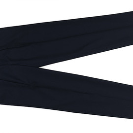 The FRANKLIN TAILORED - Wool Gabardine Pants-Navy
