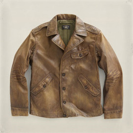 RRL - RRL Jopling Leather Jacket(Jopling Brown)