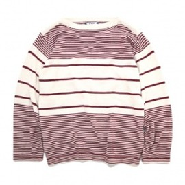 SON OF THE CHEESE - Boarder knit Wine