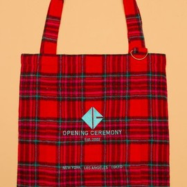 Opening Ceremony - Plaid Flannel OC Tote - UA30