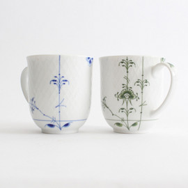 Royal Copenhagen - 西邑 桃代さんのROYAL COPENHAGEN BLUE PALMETTE CUP 2SET